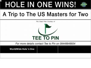 Teetopin Hole in one